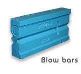 Blow Bars, Stone crushers India, Crushers parts, Crushers Products